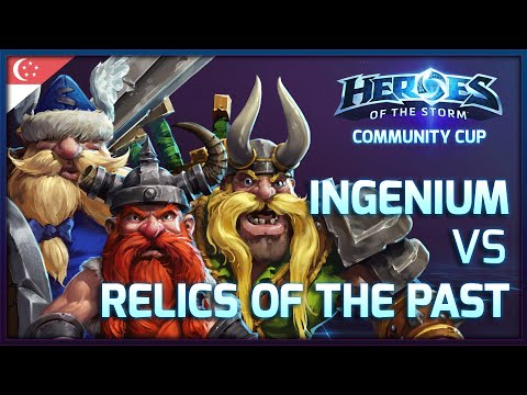[Heroes Community Cup #1] Ingenium vs Relics of the Past - Game 1