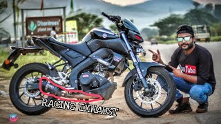 Yamaha MT15 on Steroids | Austin Racing Exhaust | Review | Vlog 126