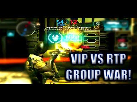 VIP VS RTP | GROUP WAR | WEN CERVIZIO
