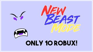 NEW BEAST FACE FOR 10 ROBUX HURRY ONLY LAST 24 HOURS (ROBLOX)