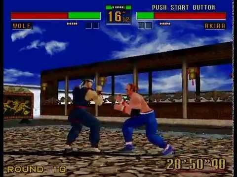 Arcade Longplay [326] Virtua Fighter 2