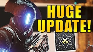 Destiny 2: HUGE UPDATE! Masterwork Weapons, Xur Exotic Changes, Ranked PvP & More!
