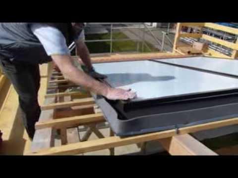 Capteur solaire vitosol 200 f svka viessmann youtube for Capteur solaire piscine