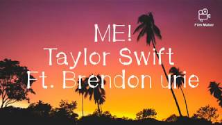 Taylor Swift - ME! (Lyrics) ft. Brandon Urie Video