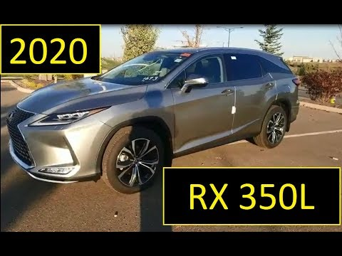 2020 Lexus RX 350L Luxury Package in Atomic Silver Review of Features and Walk Around
