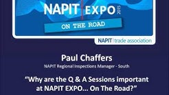 NAPIT EXPO...On the Road 2015 - Video Journey