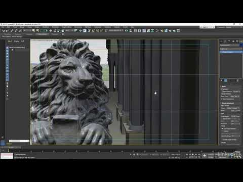 Cameras, depth of field, and exposure | 3ds Max: Special Effects for Design from LinkedIn Learning