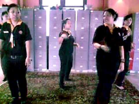Tawandang staff training dance stp - whine up