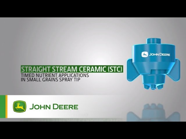 John Deere Sprayer Nozzles: Straight Stream Ceramic (STC)