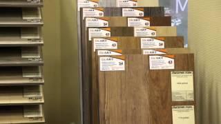 ПВХ-плитка в Империи пола(ПВХ-плитка и кварцвиниловые покрытия в магазине напольных покрытий
