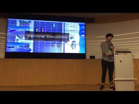 MLJejuCamp2017 - KyuShik Min : Deep Reinforcement Learning based Self Driving Car Control
