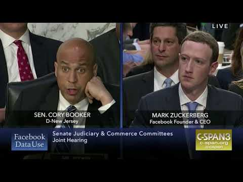 Cory Booker Discusses Discrimination On Facebook With Mark Zuckerberg