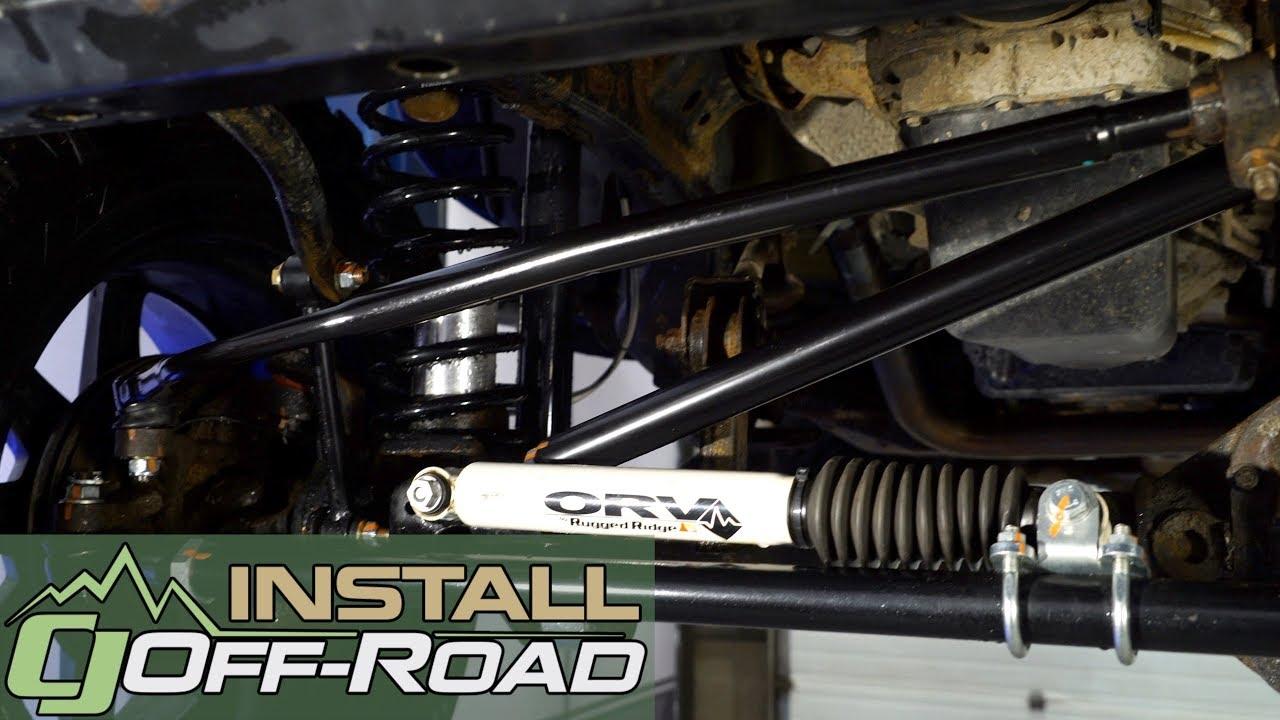 Jeep Wrangler JK JKS Manufacturing Drag Link Flip Kit 2