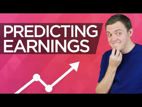 Is there a way that we can predict stock market earnings?