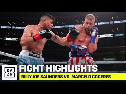 HIGHLIGHTS | Billy Joe Saunders Vs. Marcelo Coceres