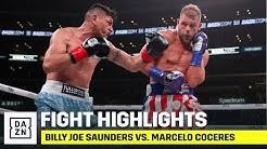 HIGHLIGHTS | Billy Joe Saunders vs. Marcelo Coceres