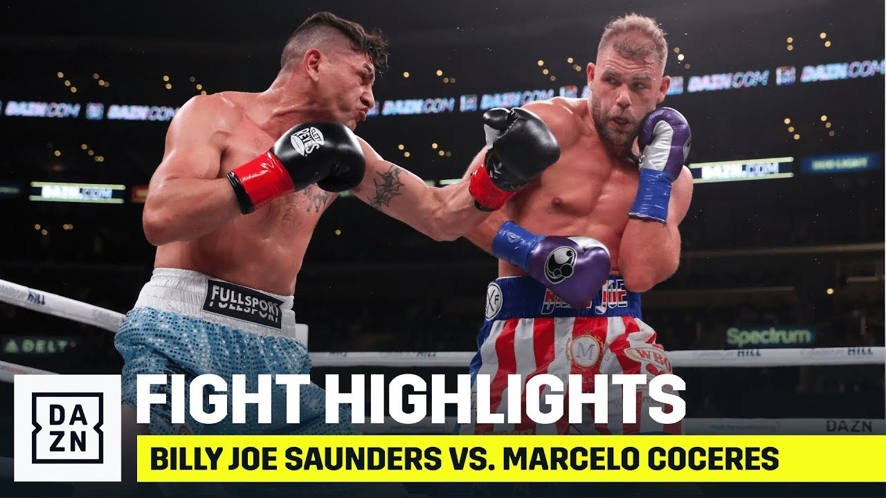 HIGHLIGHTS | Billy Joe Saunders Vs. Marcelo Coceres - YouTube