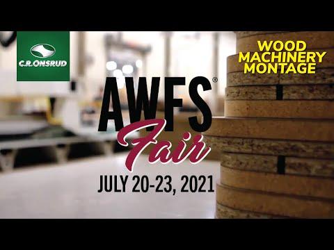 2021 AWFS Fair - C.R. Onsrud CNC Machinery Montage