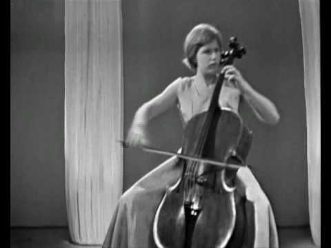 Jacqueline du Pré, F. Mendelssohn - Song without words Op.109.wmv