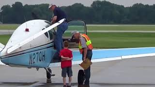 The Young Eagles event at Elkhart Indiana Airport!  6/9/18 part 2