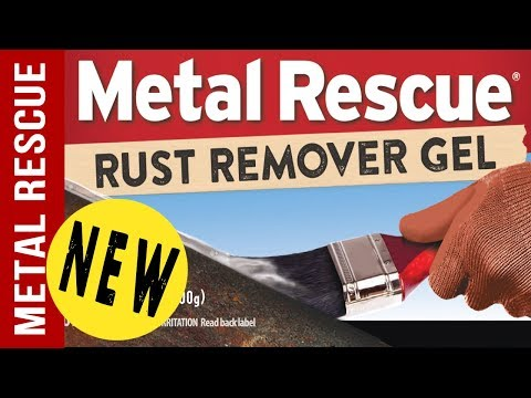 *NEW* GEL Rust Remover: Metal Rescue Rust Remover GEL