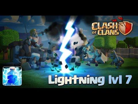 NEW Lightning Spell Level 7 | Update Sneak Peek | Information | Clash Of Clans