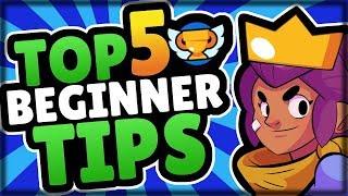 [Brawl Stars] Top 5 Beginner Tips! | New Player Strategies (2018)