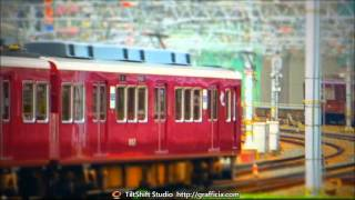 Toy trains in Japan