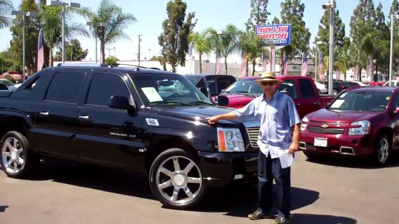 110513a 2005 Cadillac Escalade Awd Ext