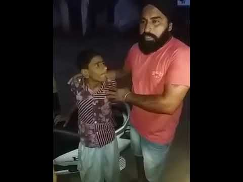 If anybody know this child plz inform his family
