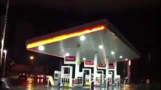 Gas Station Roof Collapse