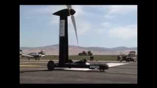 Wind powered direct upwind vehicle - DUWFTTW