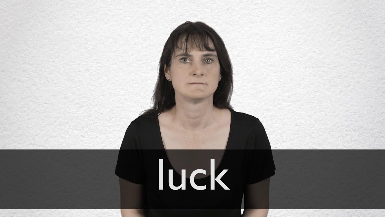 Que significa en ingles your lucky
