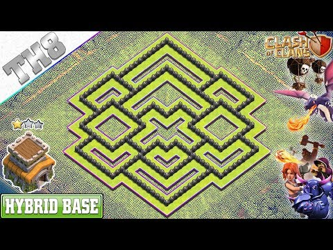 NEW BEST Town Hall 8 Base 2019 With COPY LINK - Clash Of Clans