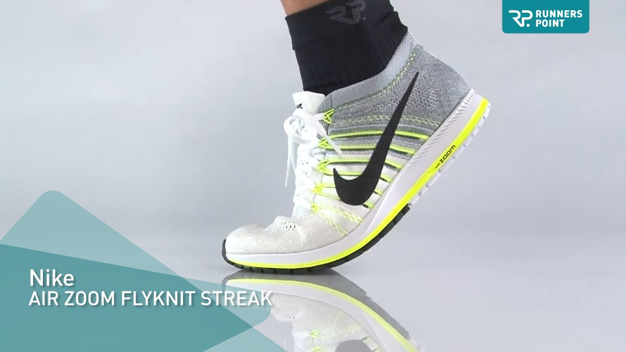 Nike AIR ZOOM FLYKNIT STREAK - YouTube d4e7af539