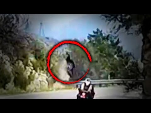 Terrifying Video Shows the Moment a Motorcyclist Fell Off Cliff