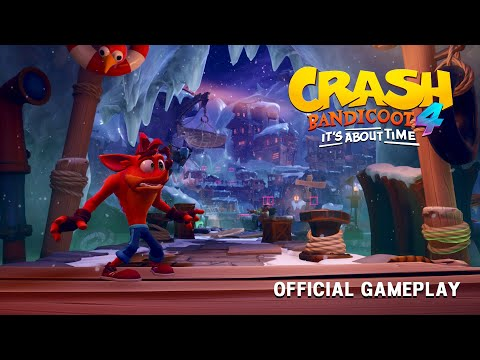 Crash Bandicoot 4: It's About Time – Three Minutes of Gameplay (1080p)