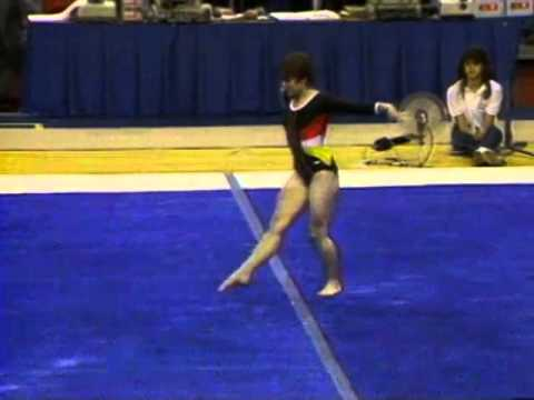 Mary Lou Retton - Floor Exercise - 1984 McDonald