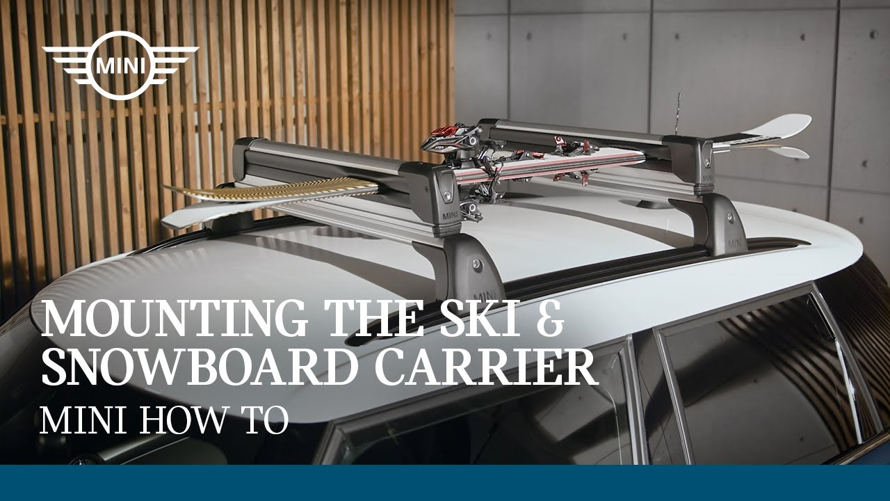 Mounting the Ski and Snowboard Carrier | MINI How To