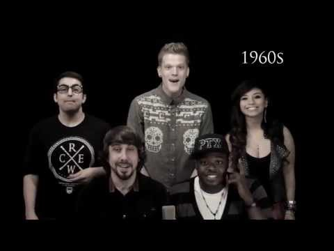 """Evolution of Music"", com Pentatonix"