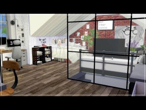 The Sims 4 | Paris Chic Studio Apartment | Speed Build + Download Links