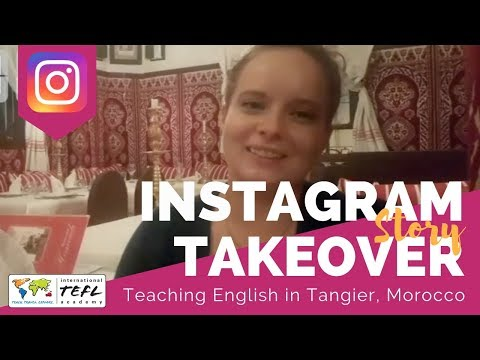Teaching English in Tangier, Morocco - TEFL Social Takeover