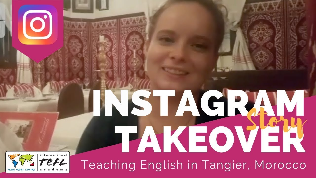 Teaching English in Tangier, Morocco - TEFL Social Takeover with Emily Clark