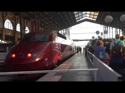 Thalys Train From Paris To Amsterdam ( Part 1 )