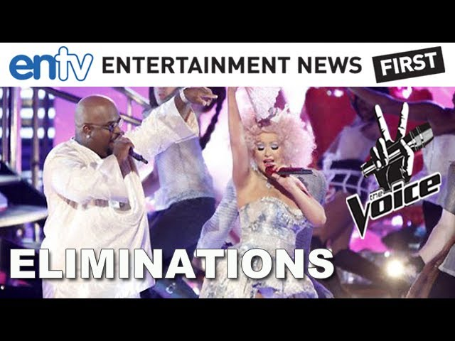 "Christina And Cee Lo Perform ""Make The World Move"" & Top 12 Eliminations: The Voice Live Rounds"