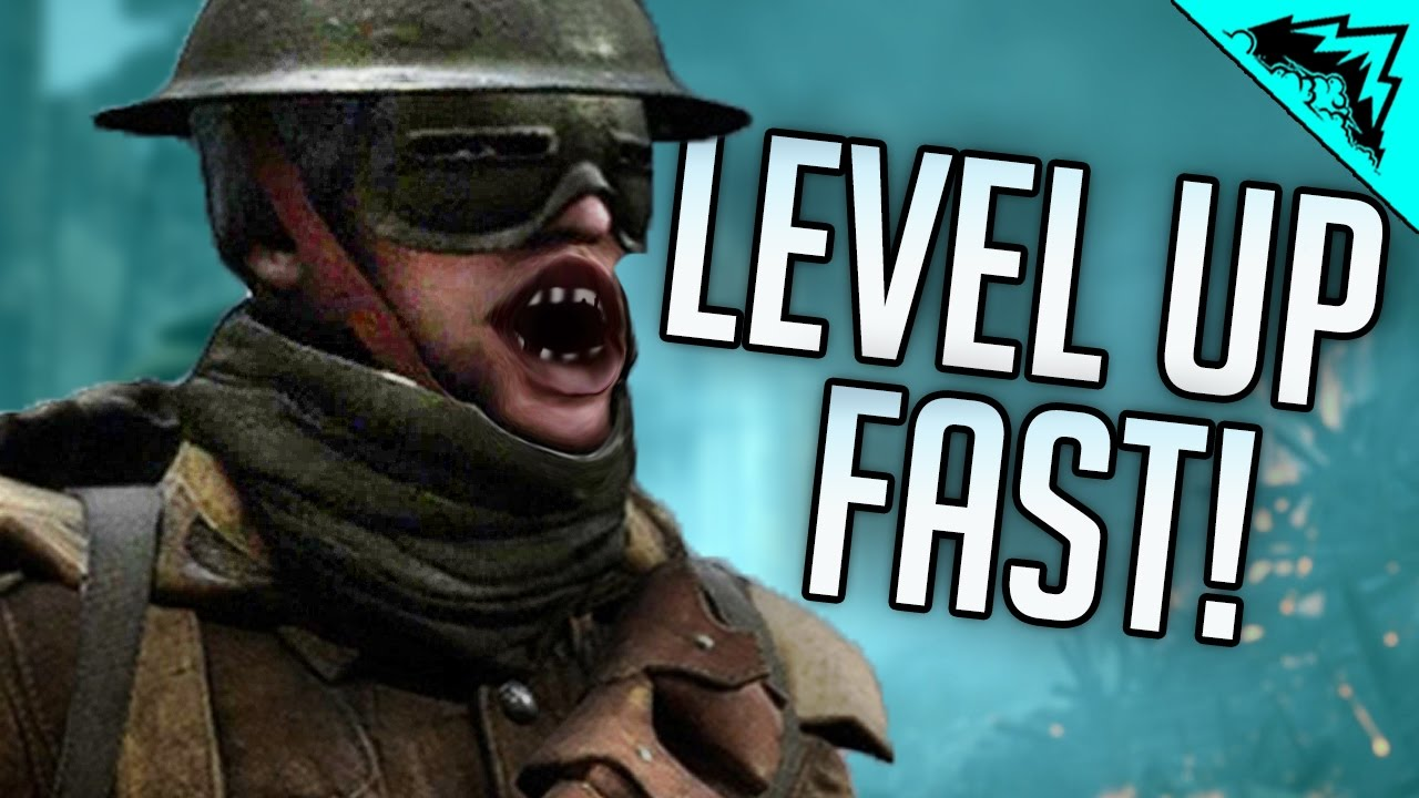 battlefield 1 how to level up fast