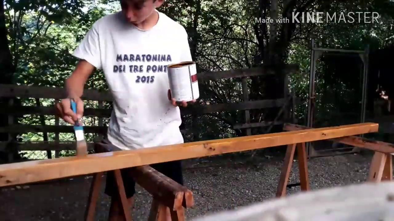 Come costruire una legnaia youtube for Costruire compostiera