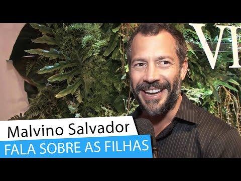 Malvino Salvador fala sobre exposição das filhas