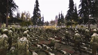 20 US Marines vs 40000 Zombies Ultimate Epic Battle Simulator