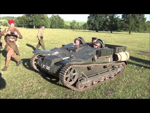 75ème anniversaire de la bataille de Stonne, véhicules